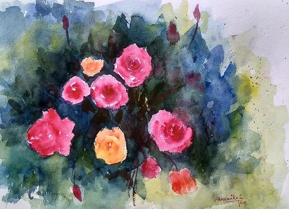 Floral 2020_20 | Watercolor