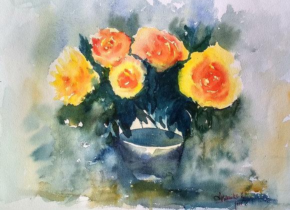 Floral 2020_18   Watercolor
