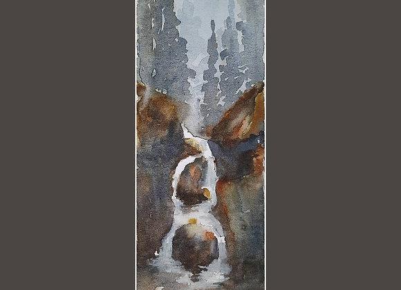 On the way : Waterfall