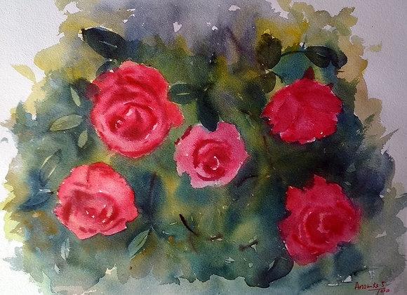 Floral 2020_29 | Watercolor