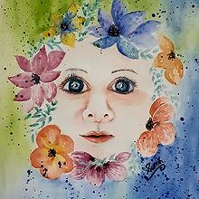 Soma.K, 'Wondering Life',Watercolor 140l