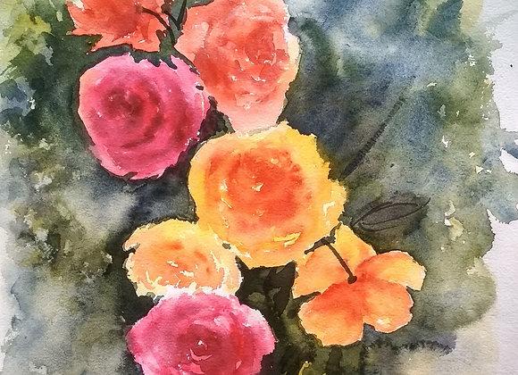 Floral 2020_21   Watercolor