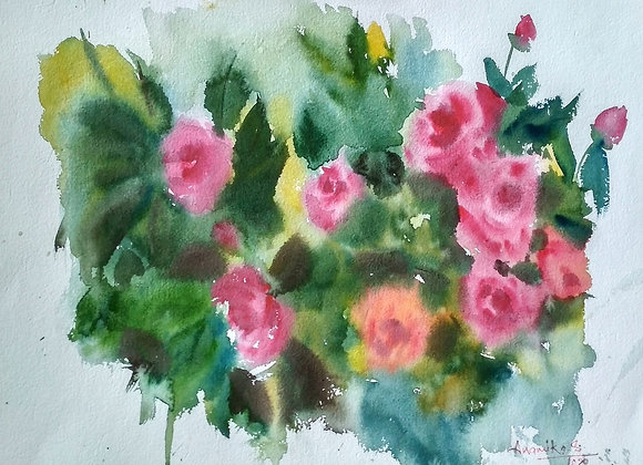 Floral 2020_30 | Watercolor