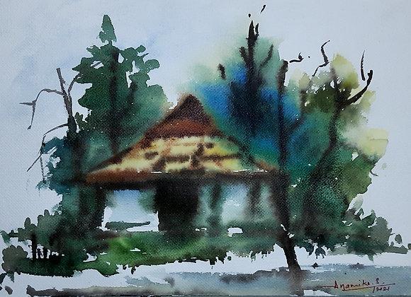 Home in jungle