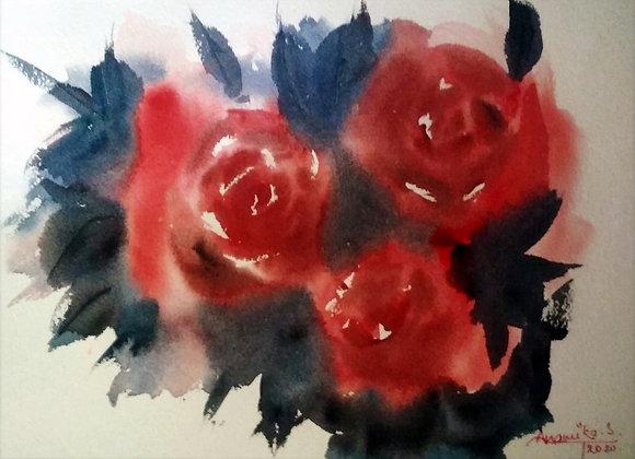Floral 2020_28 |  Watercolor