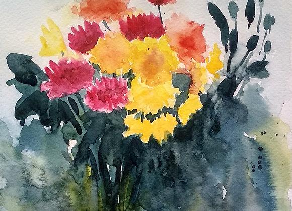 Floral 2020_19 | Watercolor