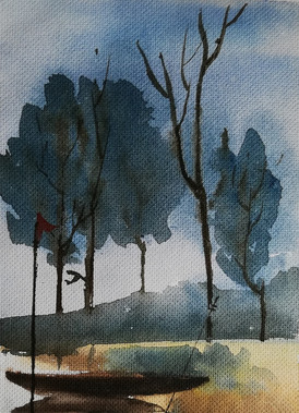 Watercolo on paper