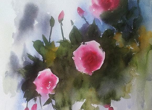 Floral 2020_26 | Watercolor