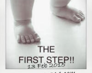 The First step!!