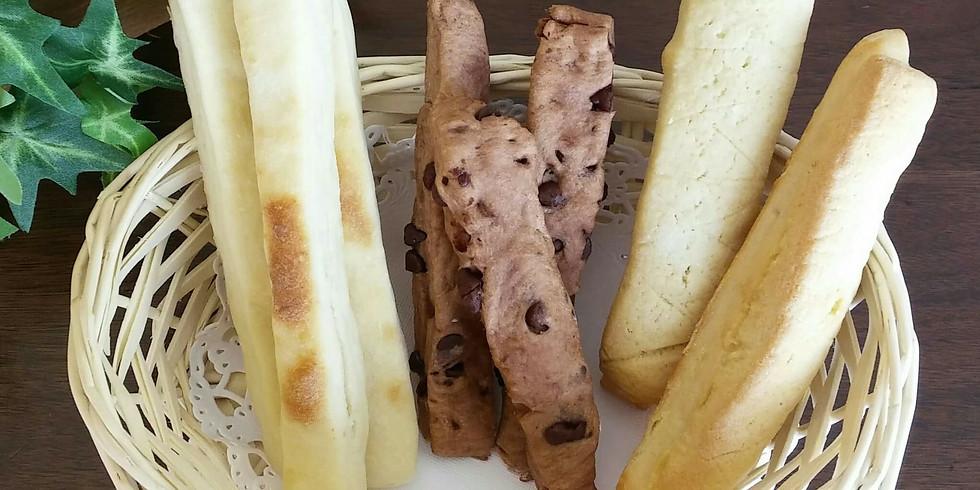 おうちパン 6月メロンスティックパン