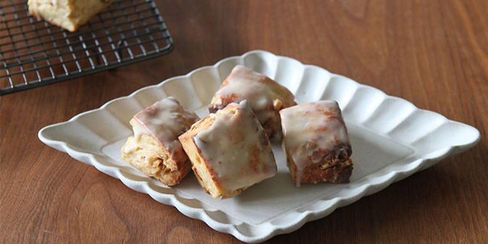 かんたんおやつ&おうちパン くるみスコーン メープルとちょい足し酵母の作り方