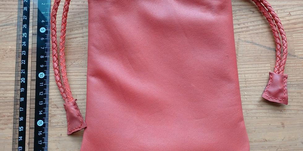 レザークラフト MY巾着を作ろう(2回講座)