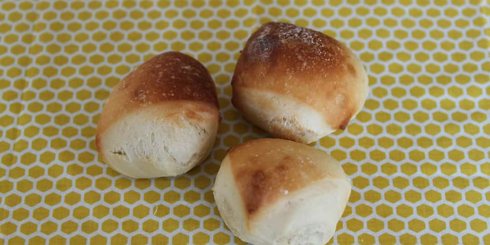 おうちパン~切りっぱなしパンシリーズ~  <ふわふわ練乳パン>