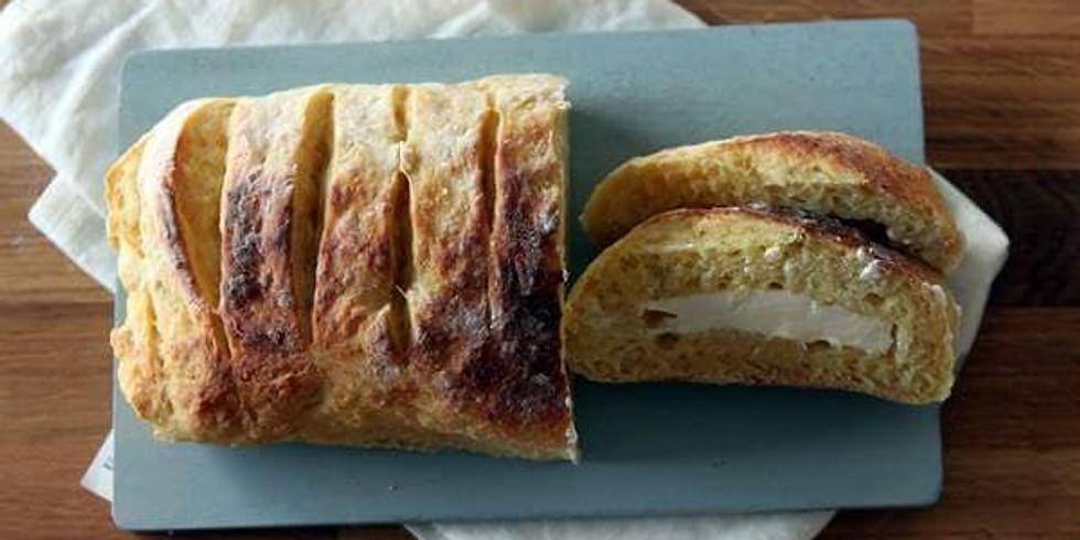 おうちパン<3月 女の子大好きメニュー ・クランベリーホワイトチョコ・マンゴークリームチーズ>