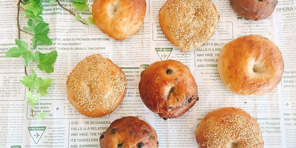 【国産小麦と自家製酵母 栗とごぼうのパン作り】
