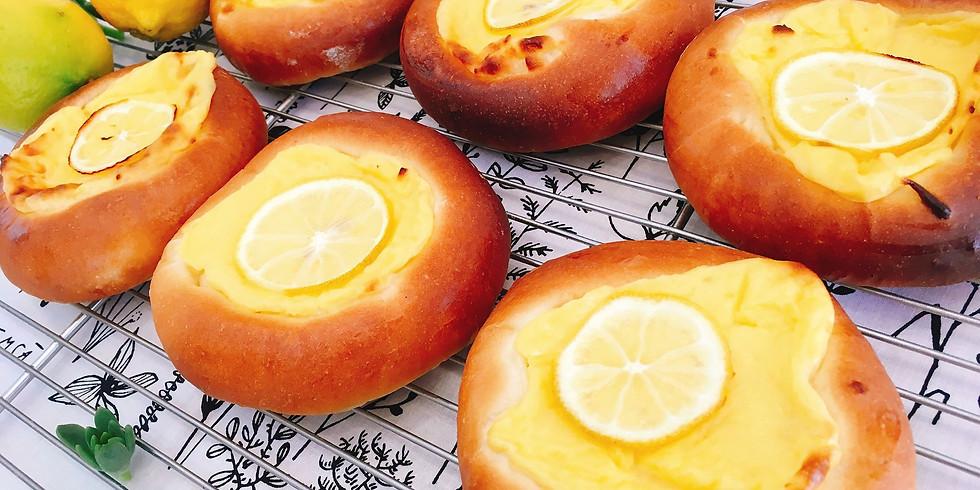 白神こだま酵母のハニーレモンとクリームチーズのパン ※残1席となりました。