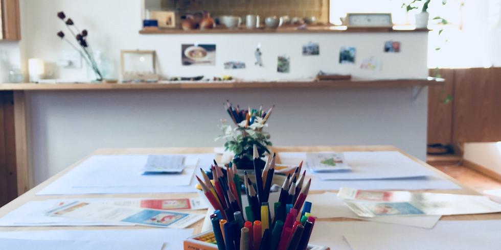 ココロをほぐす~Artworkcafe~ 5月 人生を喜びで満たすジョイフルアート
