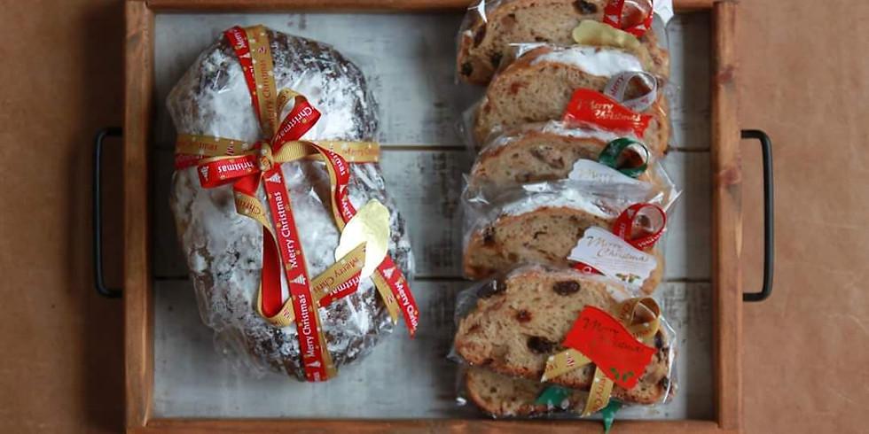 おうちパン  <クリスマスメニュードデカシュトーレン&トマトパン> 満席となりました!