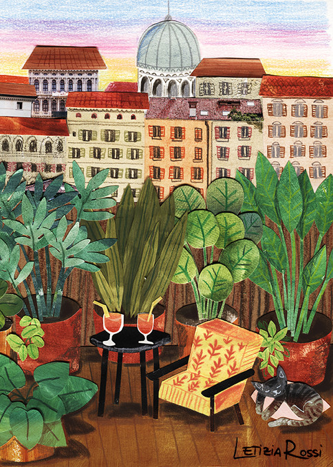 Rome's roof garden