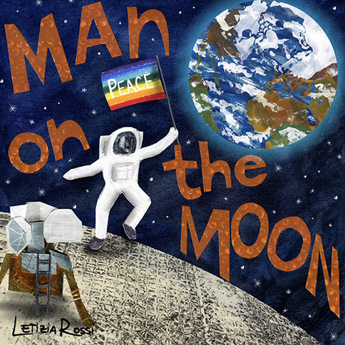 Mn on the moon