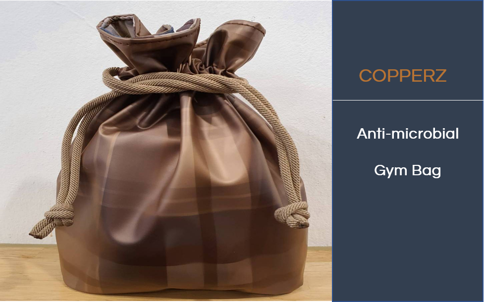 COPPERZ Antimicrobial Gym Bag
