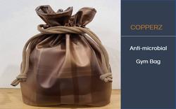 COPPERZ Antimicrobial Gym Bag