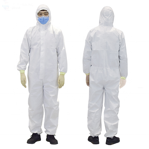Coveralls With Hood