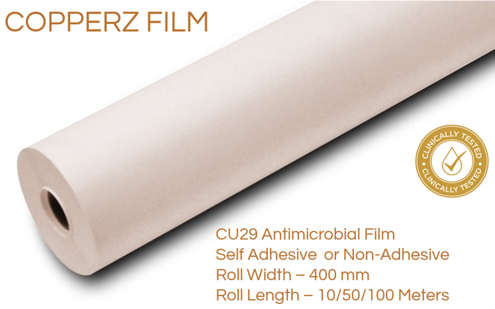 COPPERZ Anti Microbial Film