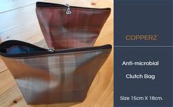 COPPERZ Antimicrobial Clutch Bag