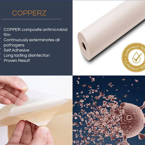 COPPERZ Antimicrobial Film