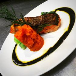 Soy Glaze Salmon
