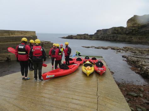Kayaking and Geology - Meenogahane