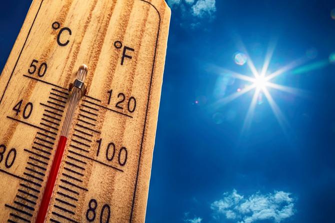Attention au soleil et coup de chaleur