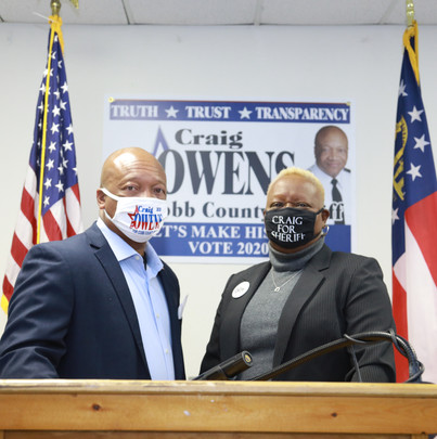 Media Release: Political Newcomer Craig Owens Defeats Incumbent Cobb County Sheriff