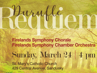 Shirtz conducts Duruflé's Requiem