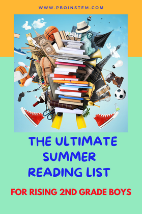 The Ultimate Summer Reading Bucket List for 7 year old boys | 10+ Books for Rising 2nd Graders