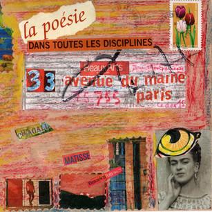 Ghislaine Lejard, Art et poésie 2, non daté