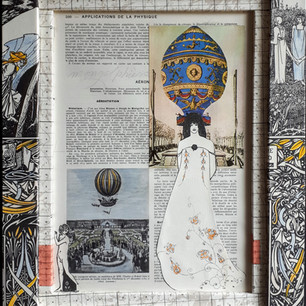 Ann Bilodeau, Page 500 aérostation ... Série Encyclopédie, volume 2, 2019