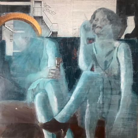Jocelyne Danis, Perdues dans le même décor, 2021