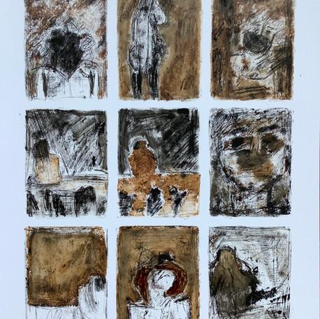 Jocelyne Danis, Les discrets, 2020