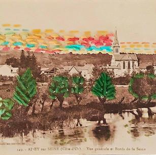 Anne-Julie Hynes, Carte postale no. 3 (recto), 2019