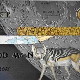 Ann Bilodeau, La lune face 1, 2021