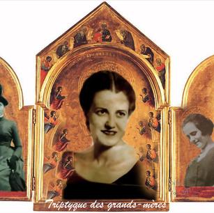 Shelagh McNally, Triptyque des grands-mères/Triptych of the grandmothers, non daté
