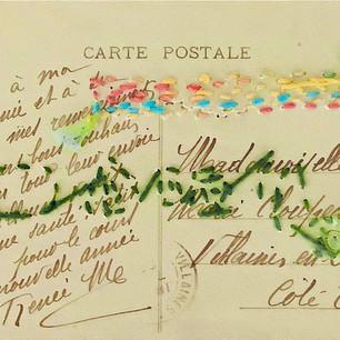 Anne-Julie Hynes, Carte postale no. 3 (verso), 2019