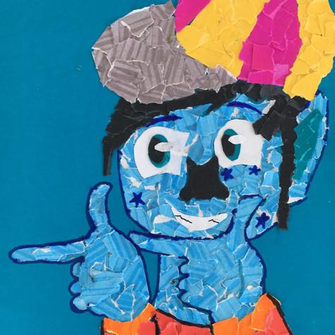 Enfant de la semaine 7 : Portrait Dada