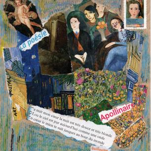 Ghislaine Lejard, Art et poésie 1, non daté