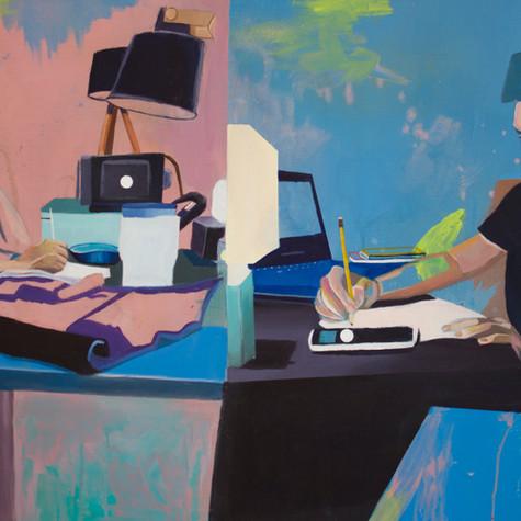 Julie Dumont, Espace de travail, non daté