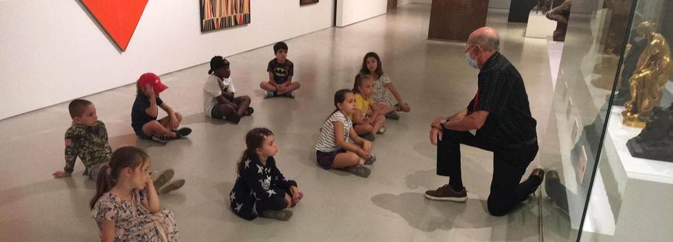 Enfant de la semaine 5 : Visite en salle