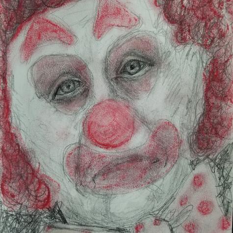 Emilie Latendresse, Le Clown est Triste, 2020