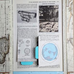 Ann Bilodeau, Page 291 établir des cartes (face 1) Série Encyclopédie, volume 2, 2018